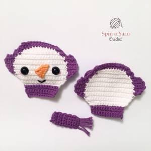 Snowman Ornament pieces
