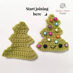 Decorated tree panels where to join