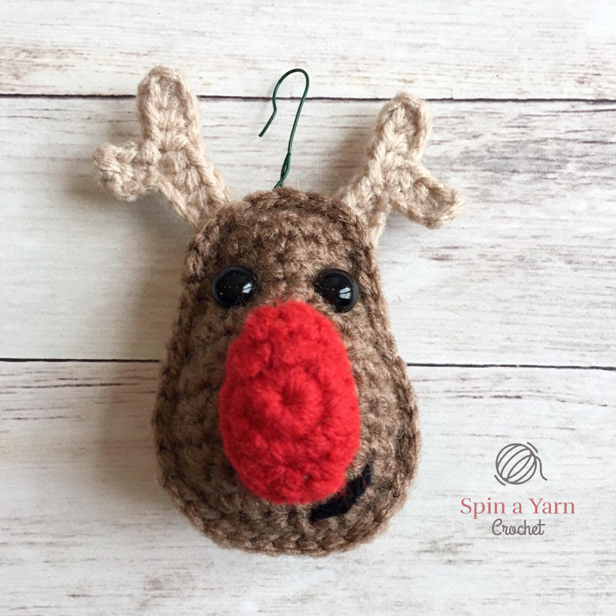 Reindeer sewing pattern image collections craft decoration ideas reindeer ornament free crochet pattern spin a yarn crochet reindeer ornament jeuxipadfo image collections bankloansurffo Choice Image