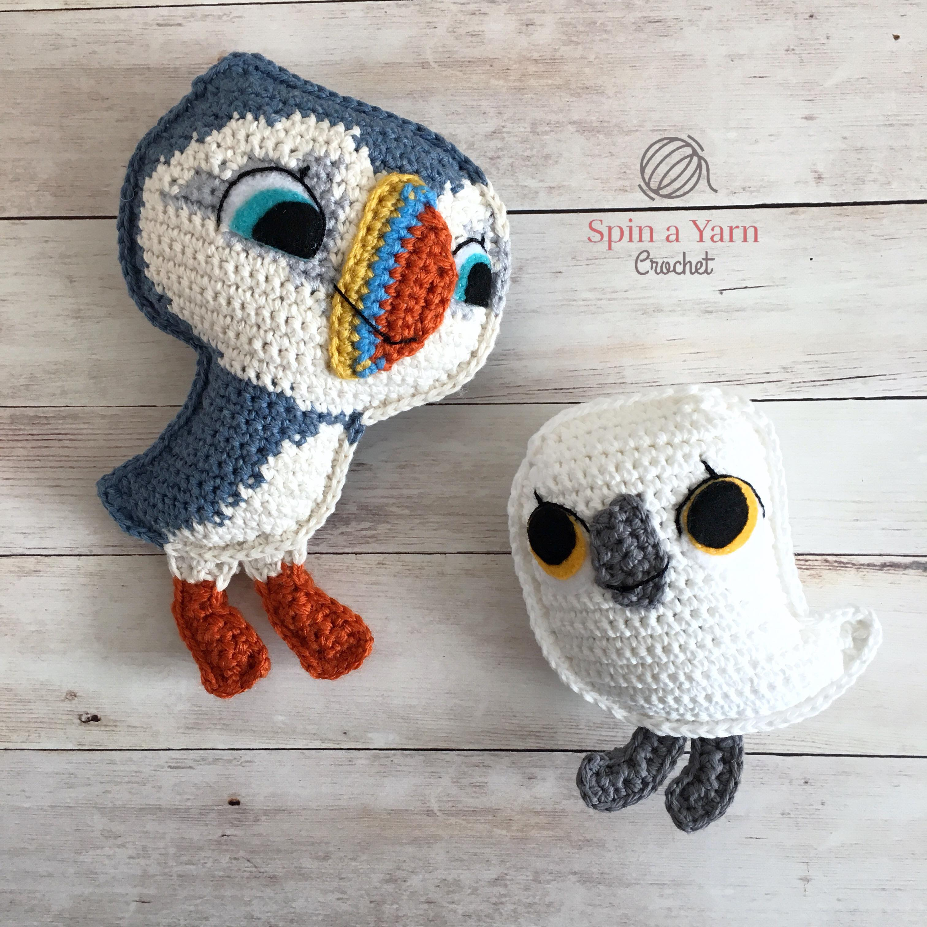 crochet bird Archives • Spin a Yarn Crochet