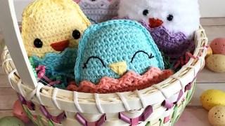 Chubby Spring Chicks Free Crochet Pattern