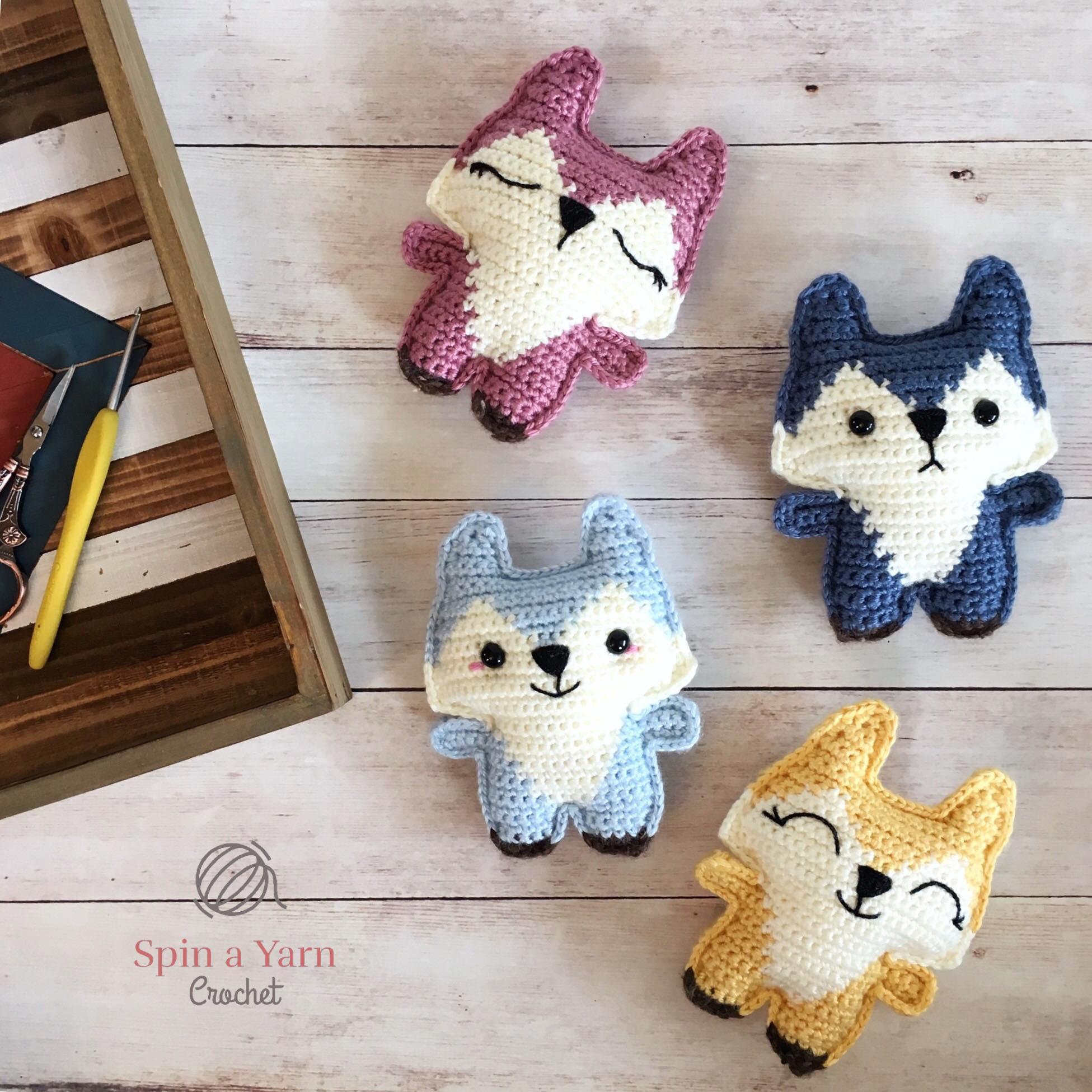 Corner To Corner Haken Patroon.Pocket Fox Free Crochet Pattern Spin A Yarn Crochet