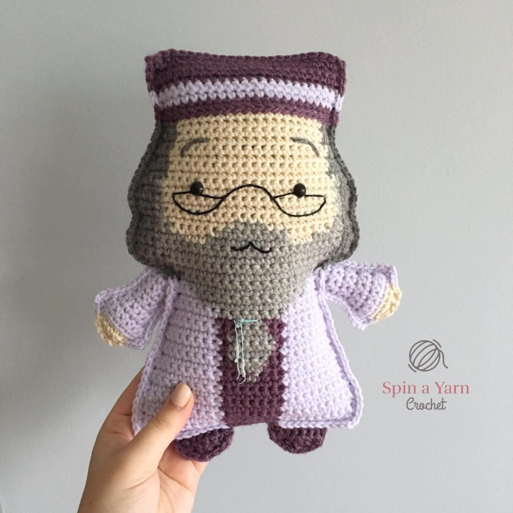 Crocheted Dumbledore