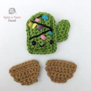 Cactus ornament pieces
