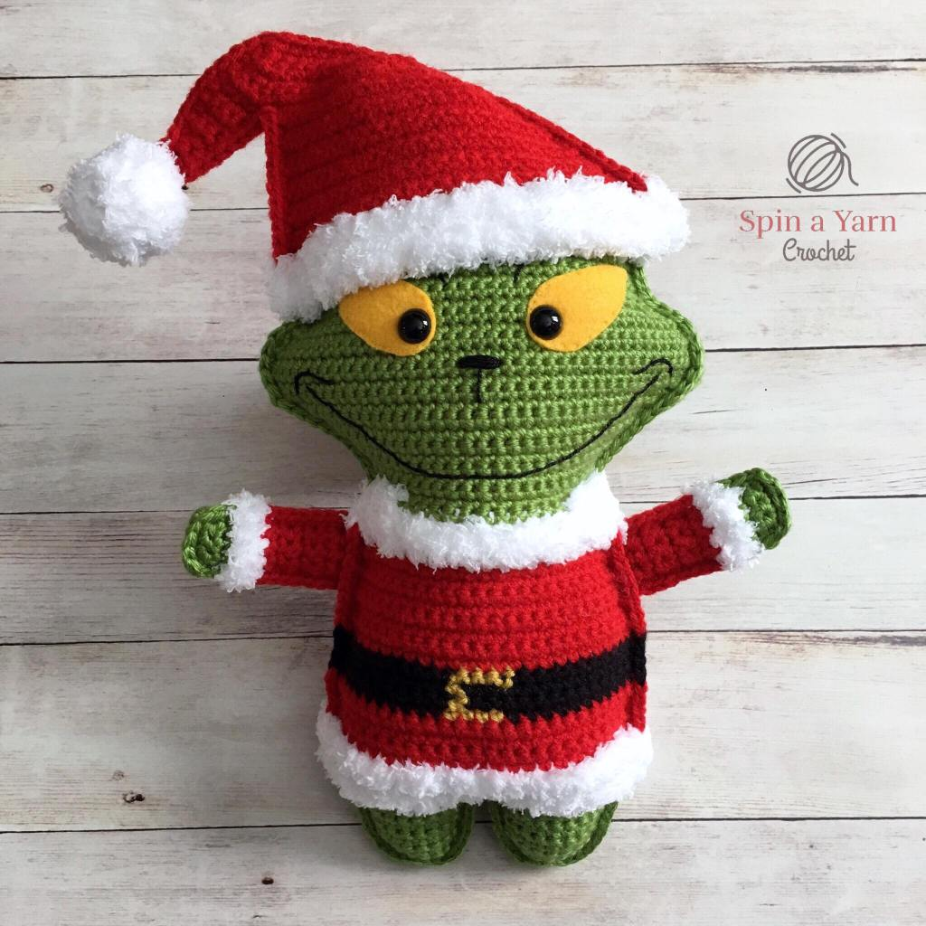 Grinch wearing hat