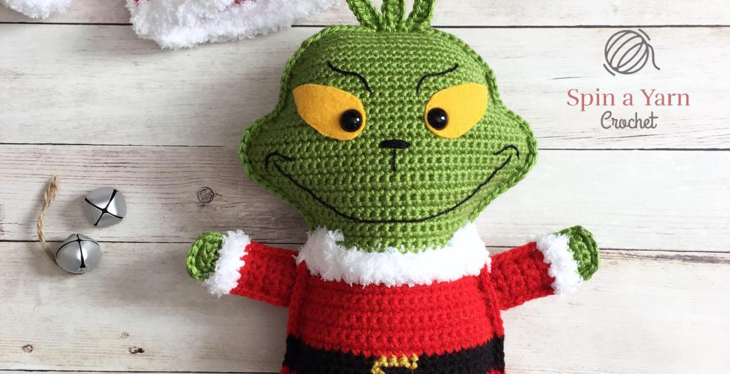 The Grinch Free Crochet Pattern Spin A Yarn Crochet