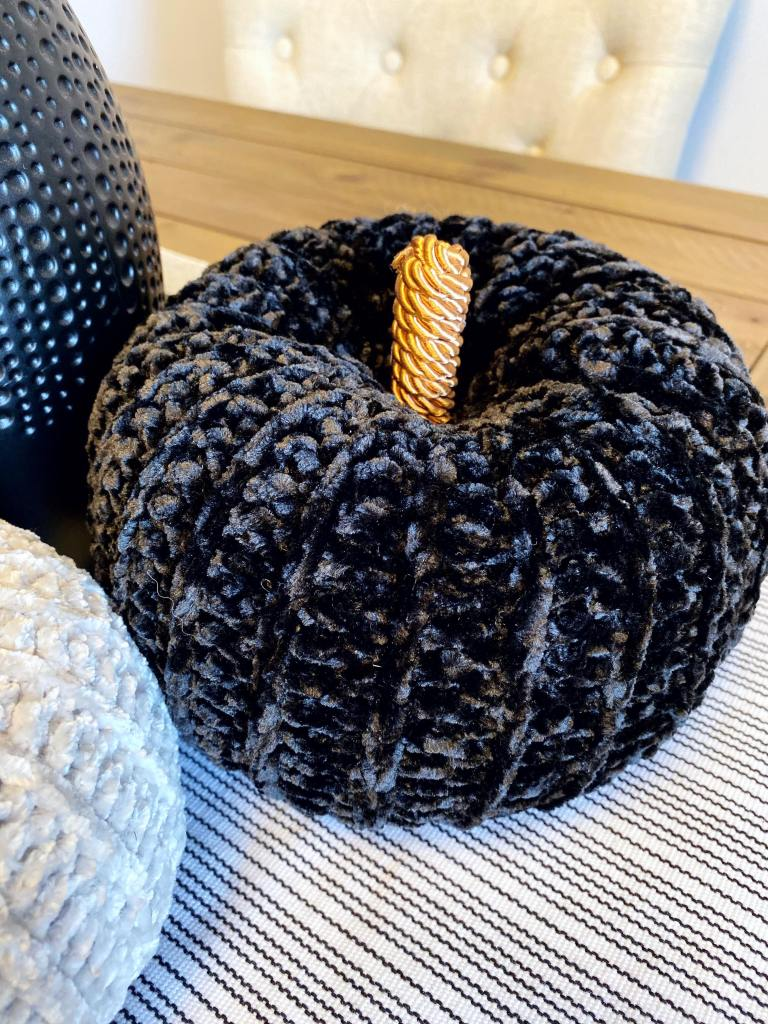 black velvet pumpkin