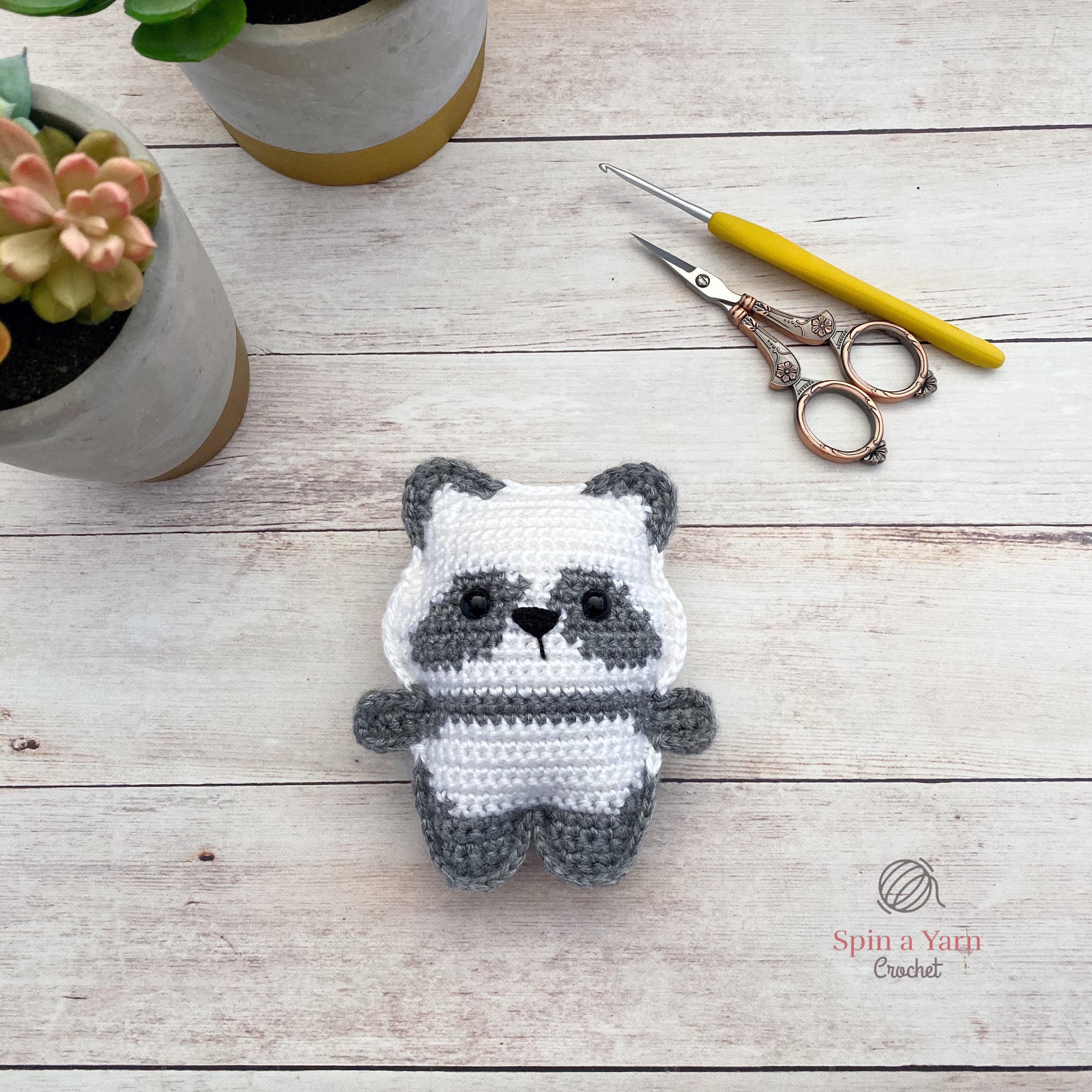 Craft Lotus: Panda (Free Amigurumi Pattern) | Crochet panda ... | 3024x3024