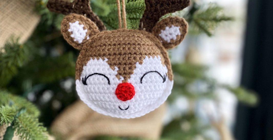 Rudolph the Red-Nosed Reindeer Crochet (Crochet Kits): Galusz ...   546x1066