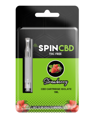 SpinCBD Strawberry Cartridge