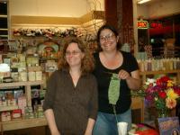 Laura in Alameda and Stephanie
