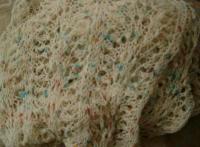 Jellybeanz Bigfoot Shawl in Hardtwist Petite