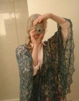 Cunningham Falls-inspired shawl