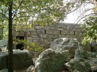 Civil War fort at Sugarloaf Mountain, Maryland