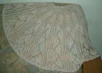 "Wanda's shawl in ""Wrapped in Comfort"""
