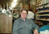 Ted at Heindselman's, with Elizabeth