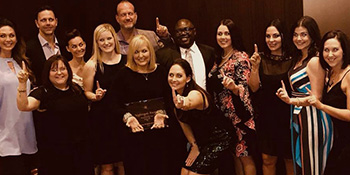 Spine Hospital Accepts 2018 Hospital of the Year Award
