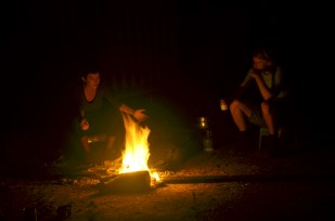Campfires are one of the best parts of fieldwork!
