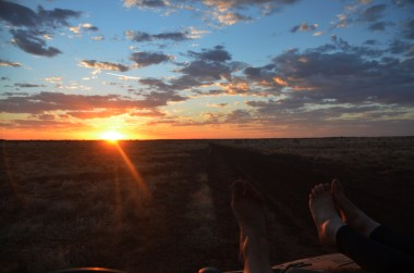 A long hard fortnight of work deserves a few sunset beers with the feet up.