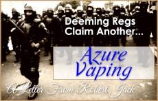 Azure Vaping Closes Doors - FDA Causes business to shutter