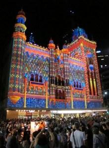 The Forum Theatre, White Night Melbourne, 2013