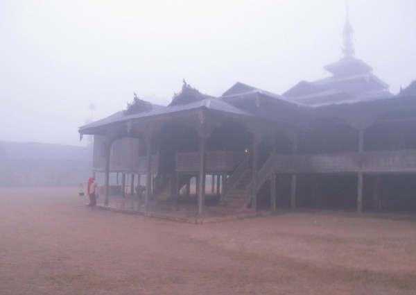 IMG_9523A Myanmar trek temple in fog