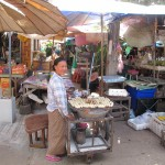 Tha Bo market