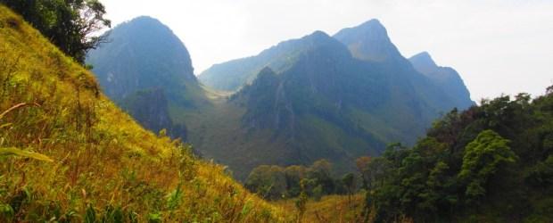 Climbing Doi Luang Chiang Dao