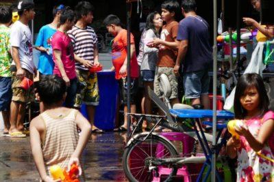 Songkran, Bangkok 2016