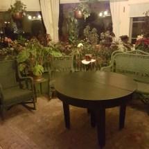 An indoor garden room