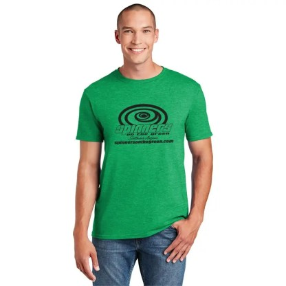 Spinners Softstyle Tee_HeatheredIrish