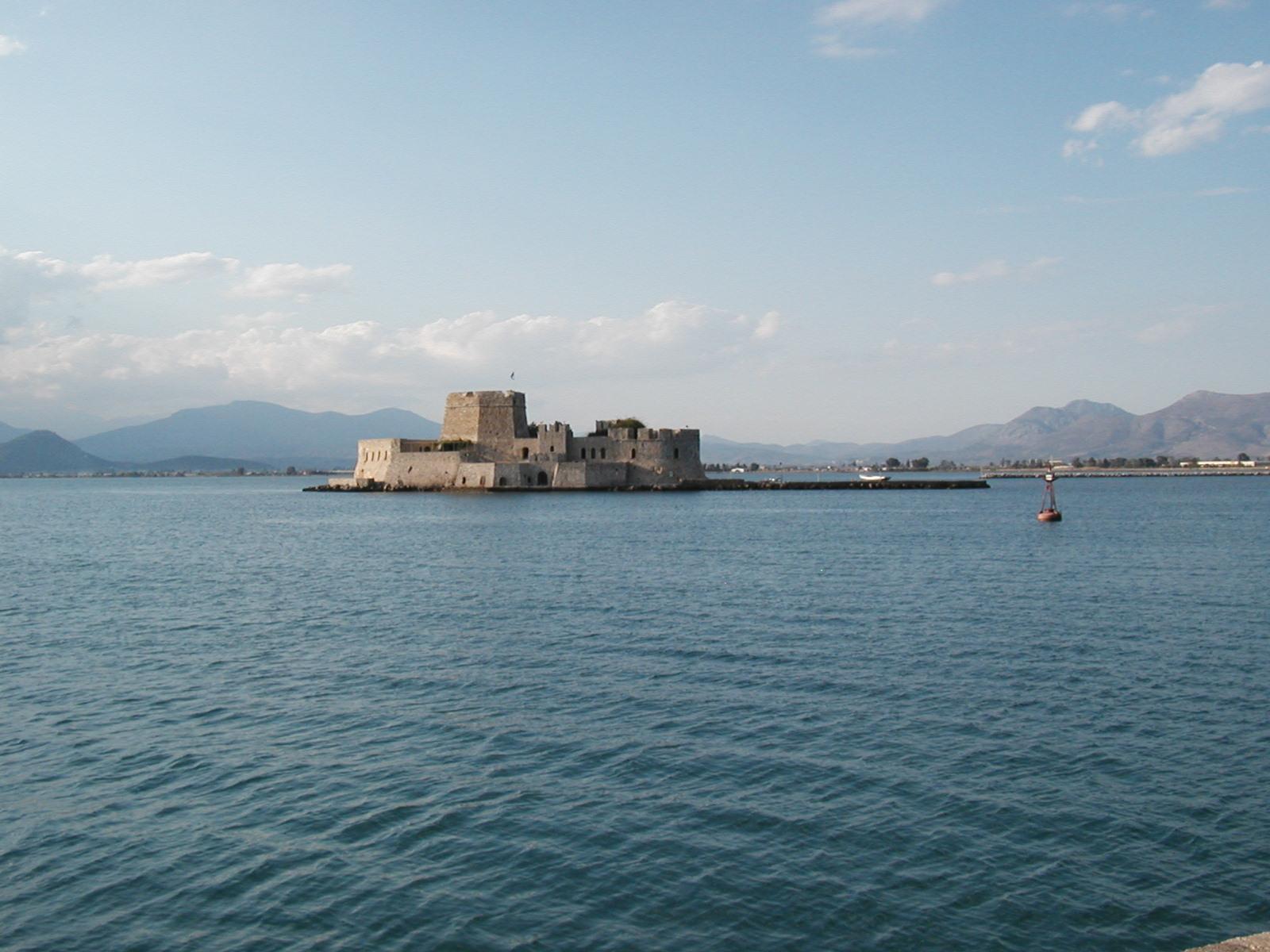 Bourtzi Castle - Nafplio