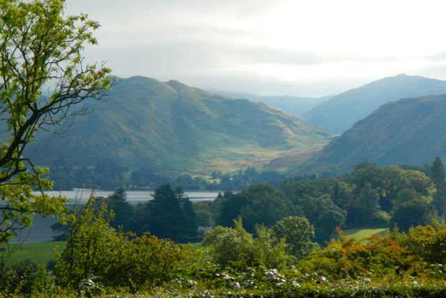 the Lake District (Ullswater)