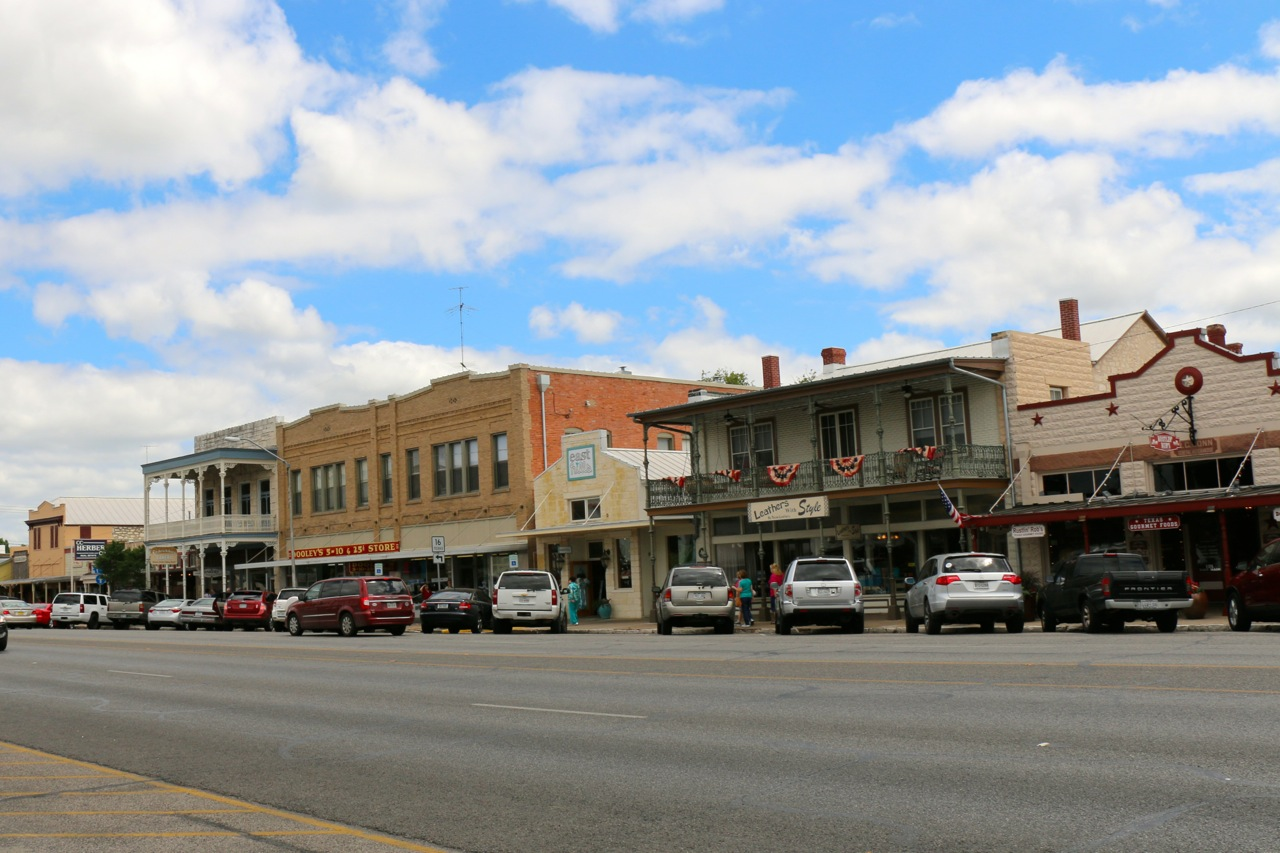 Fredericksburg, Texas - cool western town