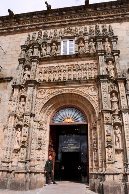 A hostel that Fernando & Isabel built for the pilgrims in 1499, now a 4-star hotel