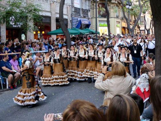 Valencia Day parade