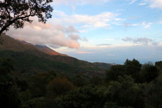 view of the Mediterranean from Casa Emilio