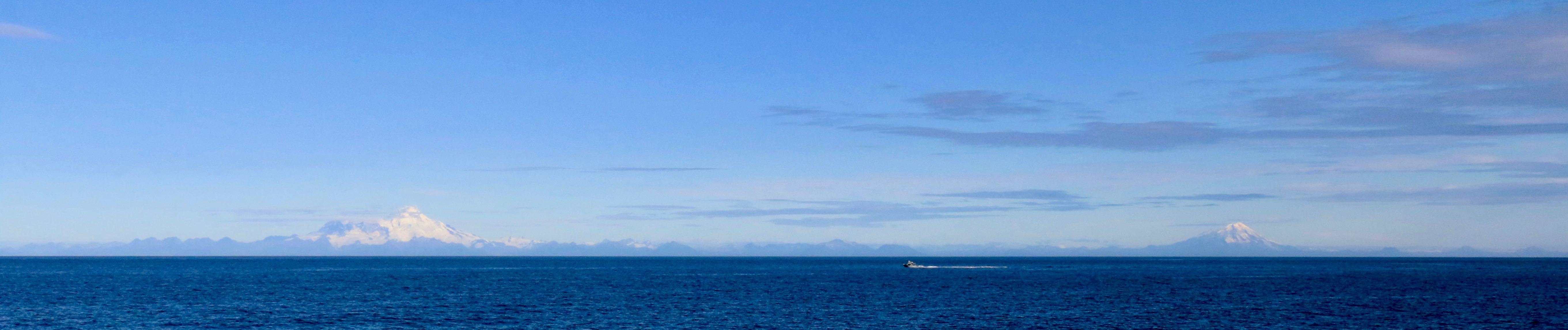 Aleutian Range volcanoes