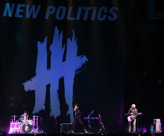 New Politics enjoy a bigger venue opening for Pink at SAP Center