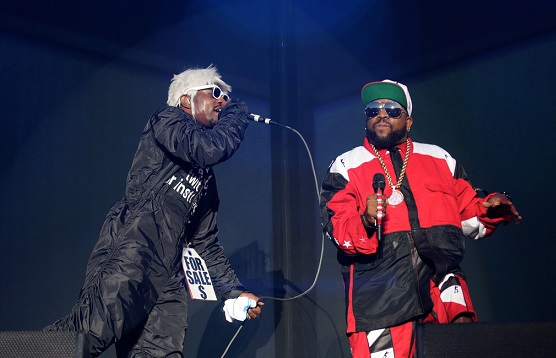 In case you wondered, Andre 3000 & Big Boi are magnificent live.  (Photo by Kara E. Murphy.)