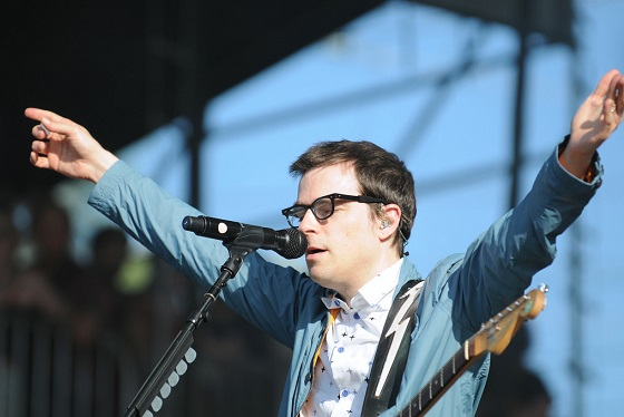 Weezer's Rivers Cuomo (Photo by Kara E. Murphy)
