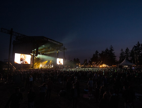A look at the crowd during The Cure.  (Photo by BobMcClenahan.)