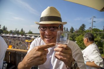Iron Chef Morimoto enjoys this year's BottleRock! (Photo credit: BottleRock Napa Valley / Latitude 38 Entertainment)