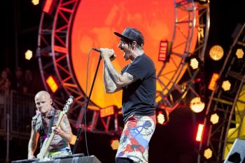Note to self: don't wait another twenty-some years to see RHCP again! (Photo credit: BottleRock Napa Valley / Latitude 38 Entertainment)