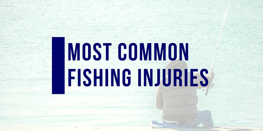 fishing injuries