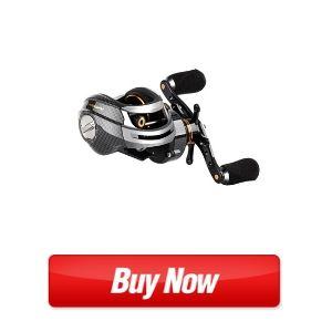 Fishdrops Ultra Smooth Dual Braking System 18 Ball Bearings Baitcasting Fishing Reel