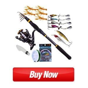 Sougayilang Fishing Rod Reel Combos