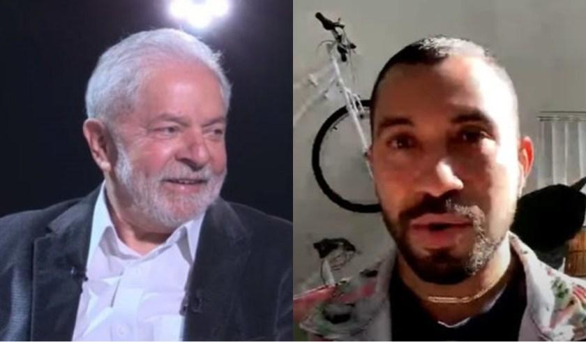 Lula da Silva and Gil do Vigor (Reproduction/Youtube)