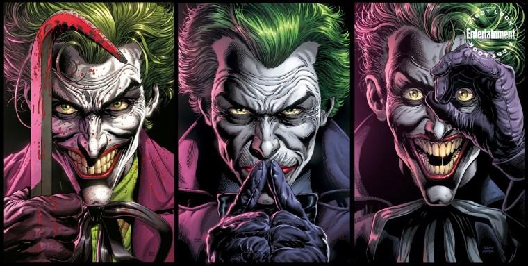 Geoff Johns revela alguns detalhes da HQ Batman: Três Coringas