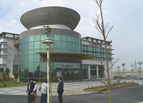Face International Corporation manufacturing plant in Taiwan